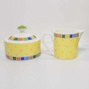 Villeroy & Boch Dining - Villeroy and Boch Twist Alea Cream Sugar C0103